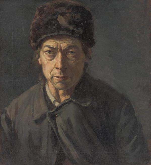 Peter Július Kern – Portrét muža