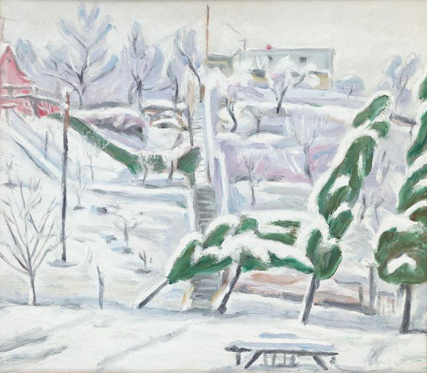 Ernest Zmeták - Zimná krajina