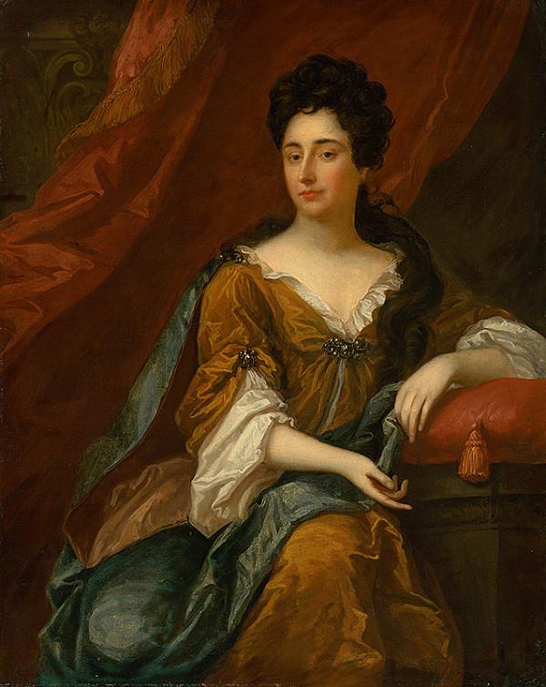 Anglický maliar – Podobizeň sediacej dámy