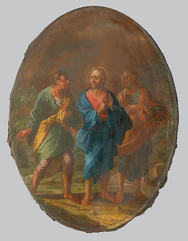 Slovenský maliar po polovici 18. storočia, Neznámy maliar - Kristus na ceste do Emauz
