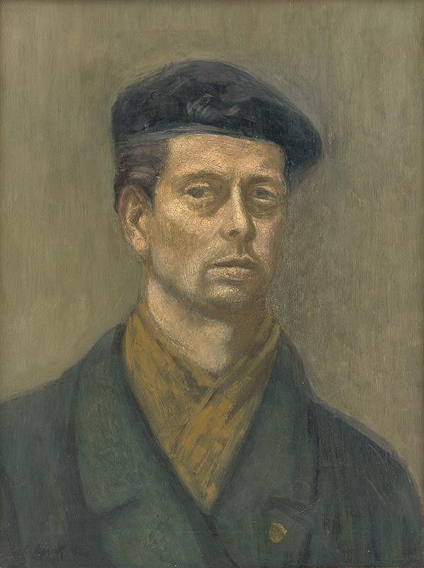 Ladislav Gandl - Autoportrét