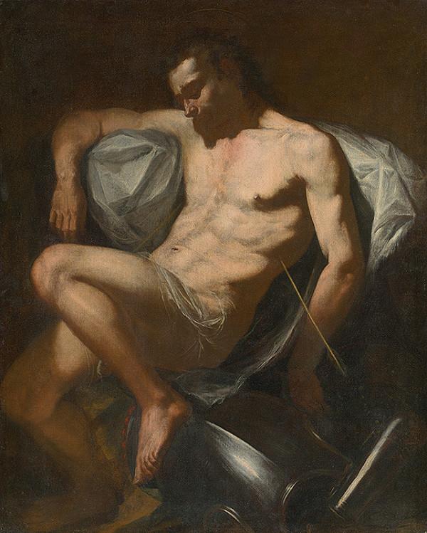Taliansky maliar Caravaggiovskej orientácie, Francúzsky maliar z 1. polovice 17. storočia – Sv. Sebastian