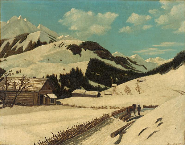 Pavel Lehotzky – Tatry v zime