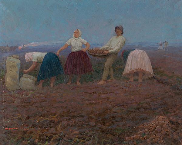 Teodor Jozef Mousson – Vyberanie zemiakov