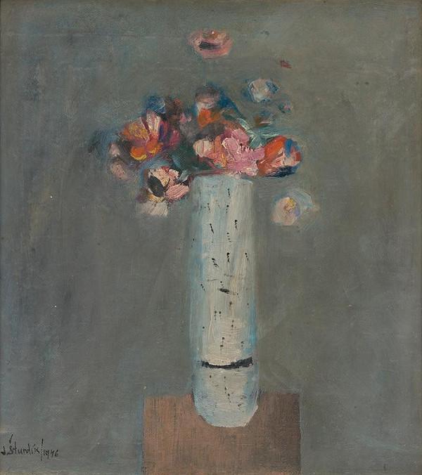 Jozef Šturdík - Zátišie s kvetmi