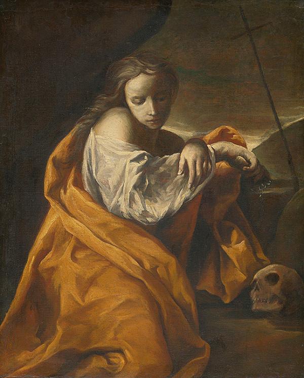 Francúzsky - španielsky caravaggista – Mária Magdaléna