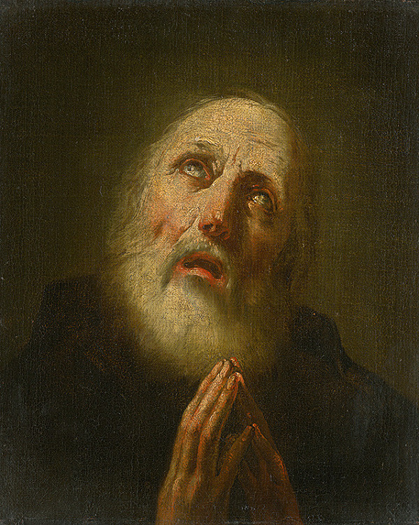 Giovanni Battista Piazzetta - Svätý František z Pauly