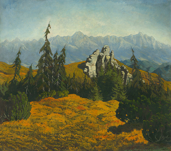 Edmund Gwerk - Krajina
