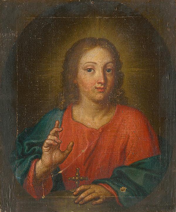 Slovenský maliar z 18. storočia, Neznámy maliar – Poprsie Krista