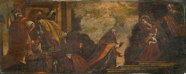 Stredoeurópsky maliar z 1. polovice 19. storočia – Kľaňanie troch kráľov