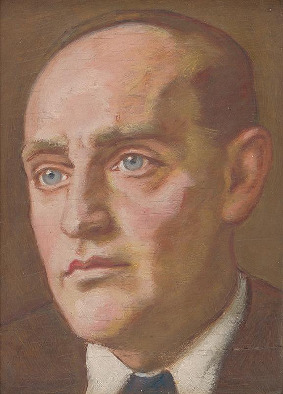 Milan Thomka Mitrovský - Portrét J.P.