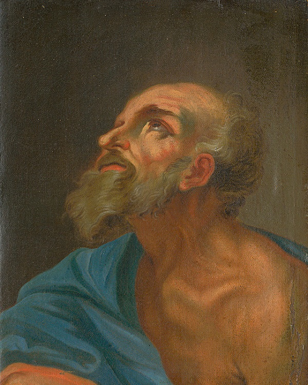Slovenský maliar z konca 18. storočia, Neznámy maliar – Štúdia hlavy apoštola