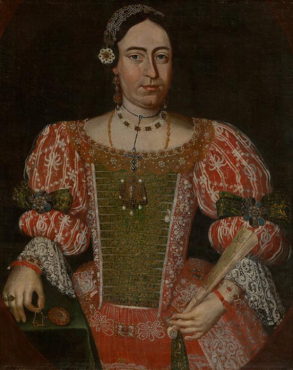 Slovenský maliar z 18. storočia, Neznámy maliar – Podobizeň Alžbety Thomovej