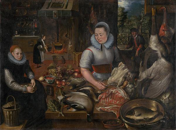 I.F. Monogramista, Nizozemský monogramista – Kuchynské zátišie