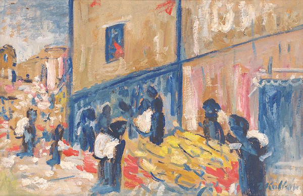 Jozef Kollár – Tržnica