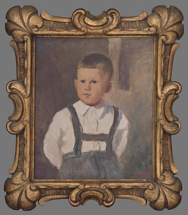 Jozef Kollár – Portrét chlapca