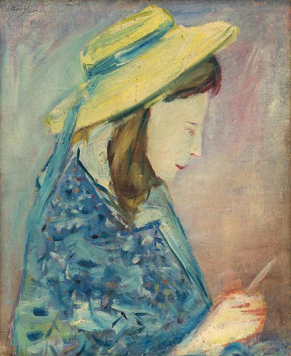 Jozef Šturdík – Dievča s listom