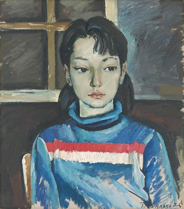Tair Salachov – Portrét dcérky