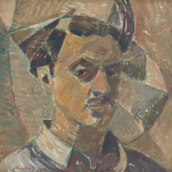 Július Balogh – Autoportrét