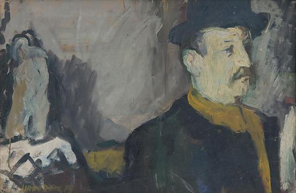 František Jiroudek - Portrét Jána Želibského