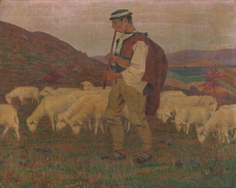Emil Pacovský – Jesenná večerná nálada, 1905, Slovenská národná galéria