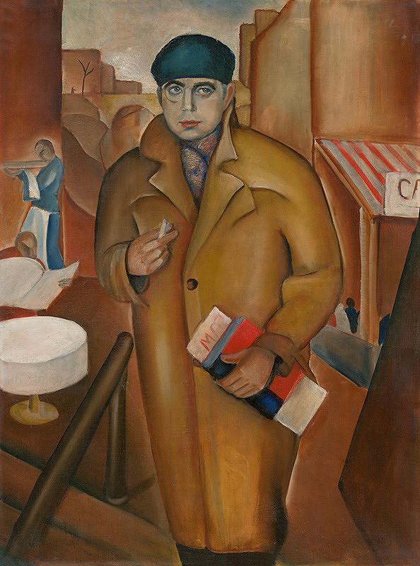 Géza Szóbel – Portrét Dr. Tilkovského