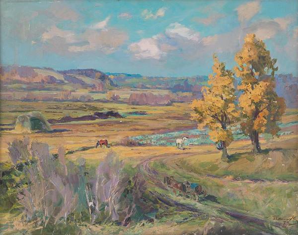 Pavel Petrovič Sokolov-Skalja – Jeseň