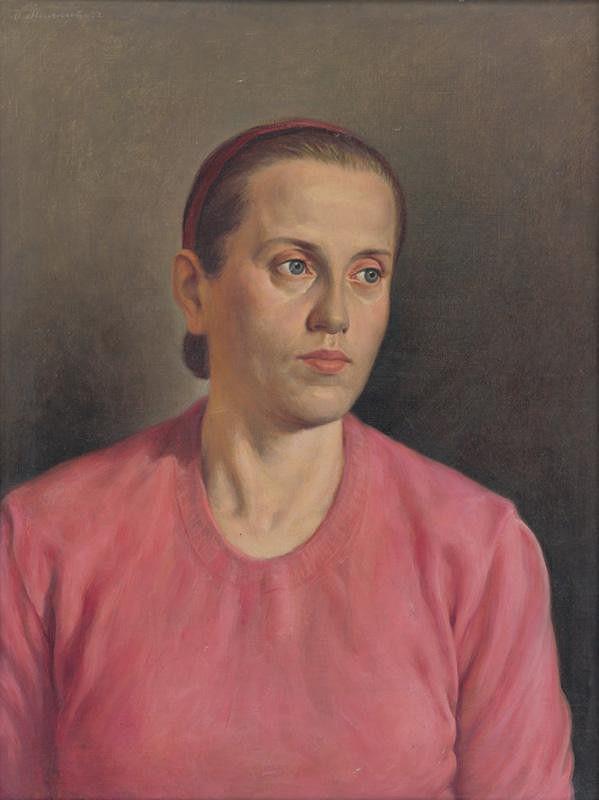 Dezider Milly – Portrét manželky