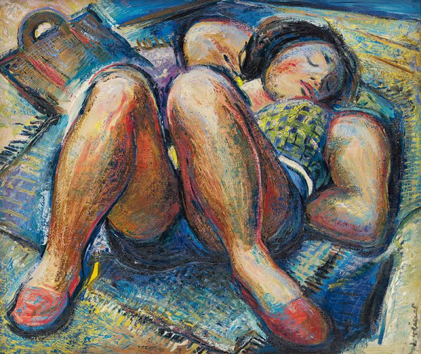 Imrich Weiner-Kráľ – Spiace dievča