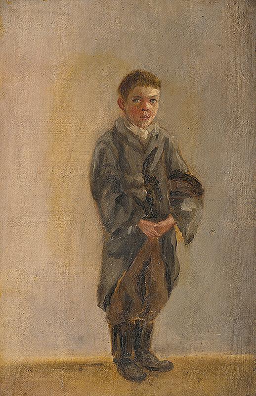 Rudolf August Benyovszky - Autoportrét z detských čias