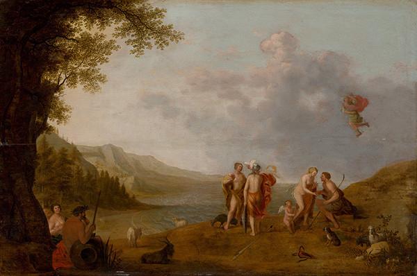 Cornelis Willaerts – Paridov súd