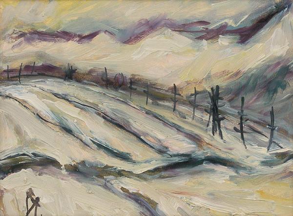 František Studený – Krajina z Tisovca