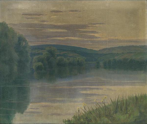 Vincent Bánsághi - Krajina s riekou