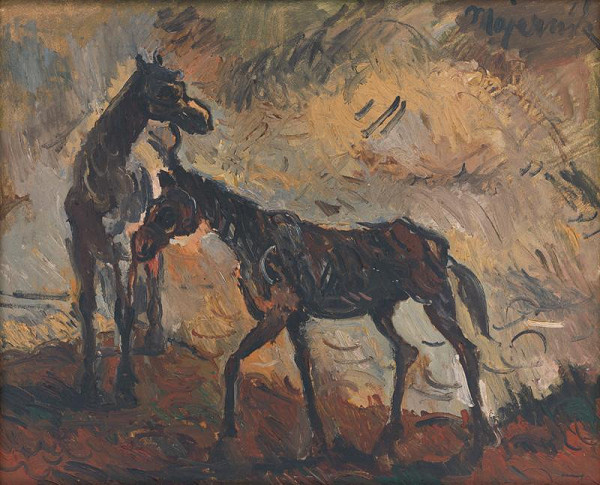Cyprián Majerník - Utečené kone