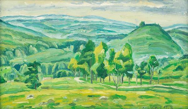 Ernest Zmeták – Krajina pri Červenom kameni