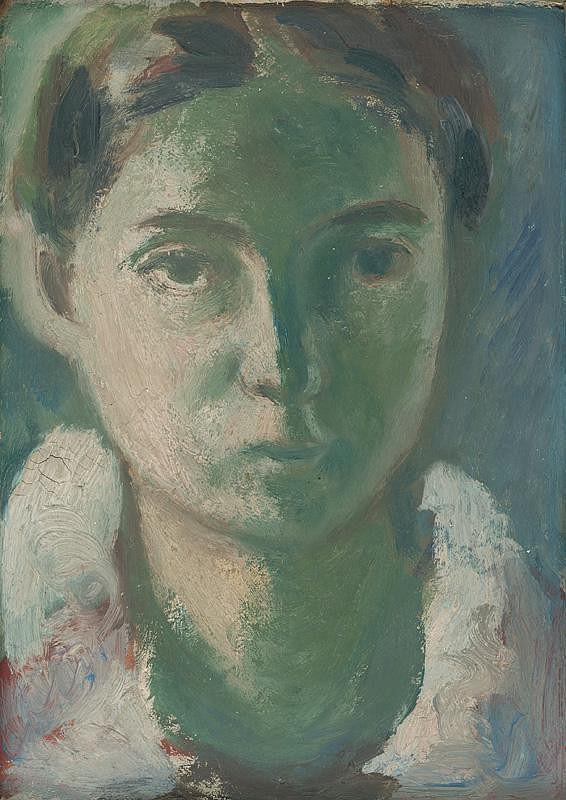 Ján Mudroch - Portrét dievčaťa