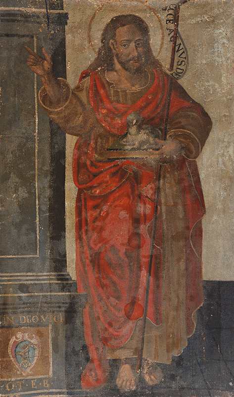 Slovenský maliar zo 17. storočia, Neznámy maliar - Svätý Ján Krstiteľ