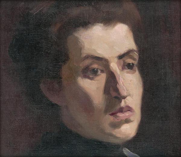 Slovenský maliar zo začiatku 20. storočia - Štúdia hlavy