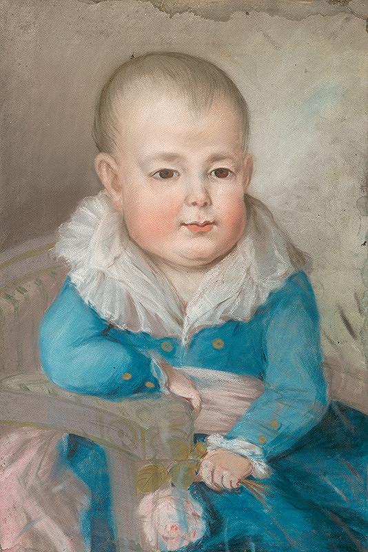 Slovenský maliar z konca 18. storočia, Neznámy maliar - Podobizeň dieťaťa