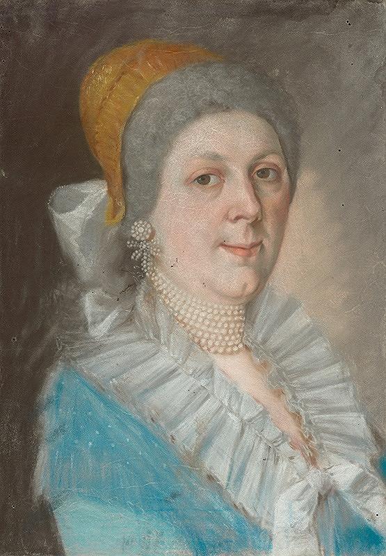 Slovenský maliar z konca 18. storočia, Neznámy maliar – Podobizeň ženy s perlovým náhrdelníkom