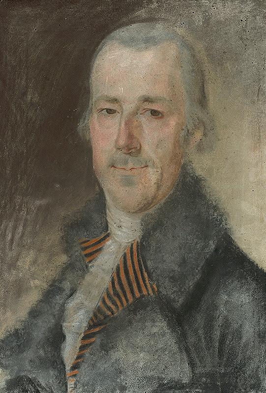 Slovenský maliar z 18. storočia, Neznámy maliar – Podobizeň muža