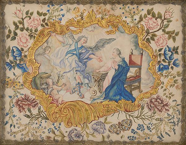 Slovenský maliar z 18. storočia, Neznámy maliar - Zvestovanie