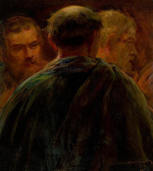 Maximilián Kurth - Štúdia troch stareckých postáv