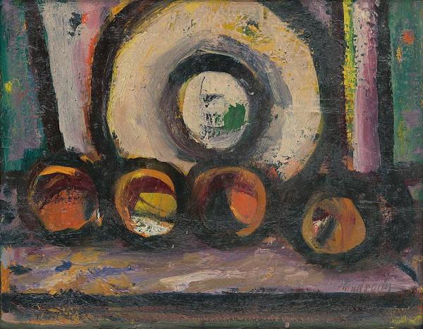 Ján Mudroch – Zátišie s jabĺčkami