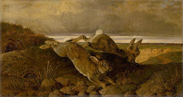 Friedrich Carl von Scheidlin – Utekajúce králiky