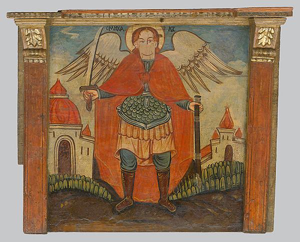 Neznámy ikonopisec - Archanjel Michael