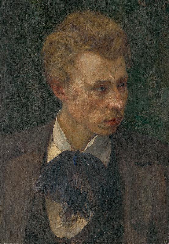 Miloš Jiránek – Portrét maliara R.Boehma