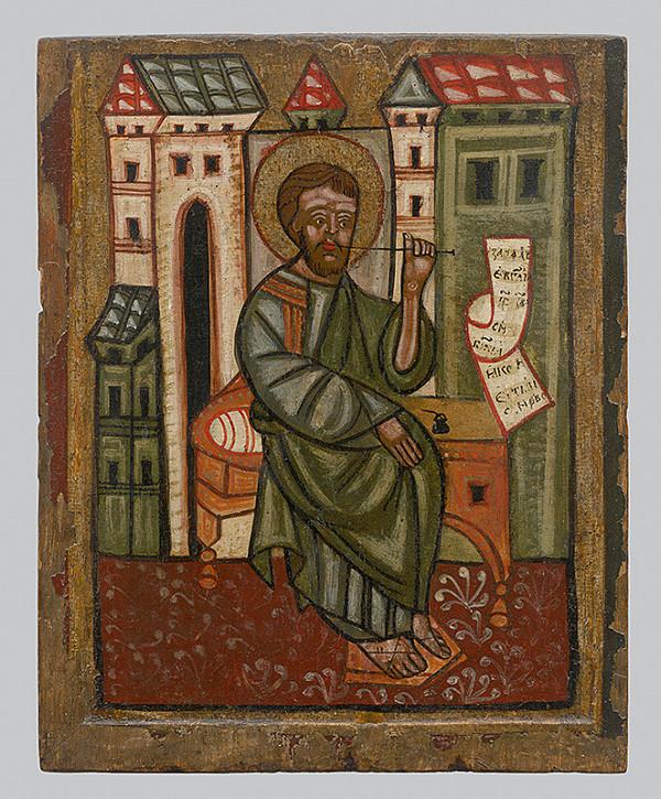 Neznámy ikonopisec - Evanjelista Marek