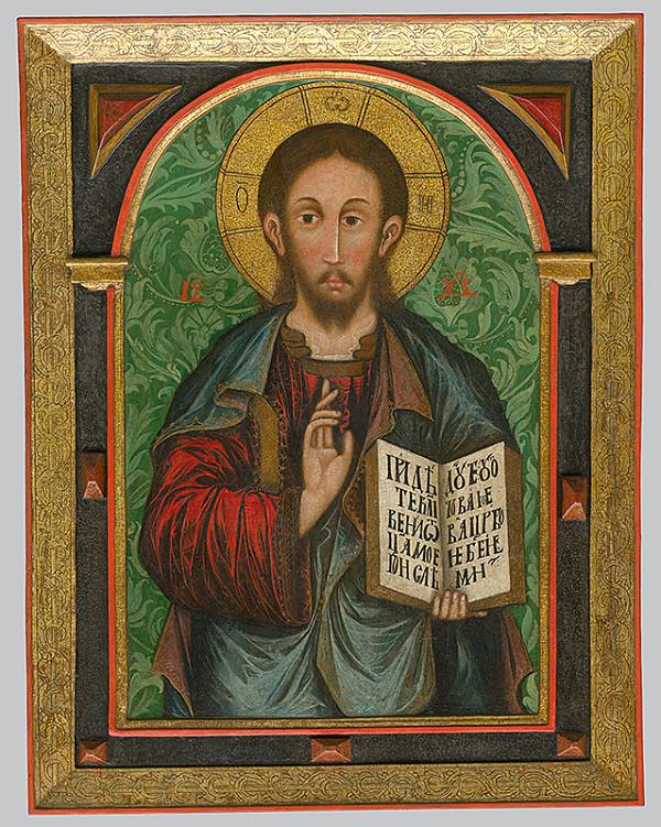 Neznámy ikonopisec - Kristus učiteľ