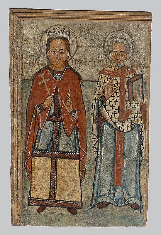 Neznámy ikonopisec - Sv. Paraskeva a sv. Mikuláš